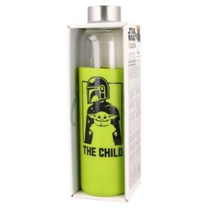 Mandalorian The Child Glass Bottle with Silicone Cover