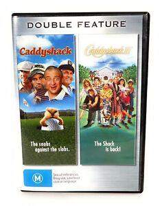 Caddyshack 1 & 2 II DVD Chevy Chase Region 4 Free Postage