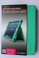 MORBIDA Kensington Folio Case & Stand iPad Mini Retina Display Inc VERDE k97130ww