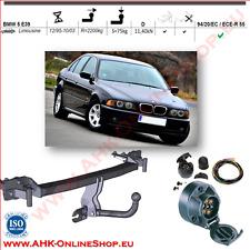 Gancio di traino fisso BMW 5 E39 Berlina 1995-2003  + kit elettrico 13-poli