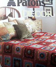 Patons Decor  Love Your Home  Afghan Patterns To Knit & Crochet