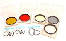 New ListingHasselblad B60 Multicoated Filter Set - Orange/Red/Yellow/Polariz er/B50 Adapter