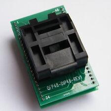 1pcs LQFP48 TQFP48 QFP48 DIP 0.5Pitch IC Socket Program Programming Adapter A13D