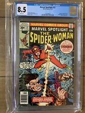 Marvel Spotlight #32 CGC 8.5 1977 1st app. and origin Spider-Woman White Pages