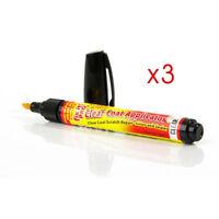 Lot De 3 Stylo Crayon Universel Fix It Pro Efface Rayure Carrosserie Auto Neuf