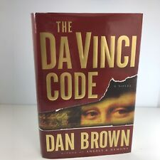 The Da Vinci Code by Dan Brown; First Edition, First Printing, Very Good