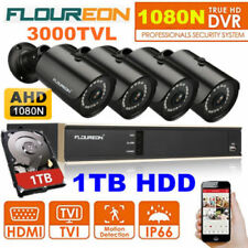 1TB HDD 8CH 1080N CCTV DVR 3000TVL Outdoor Video Camera Home Security System Kit