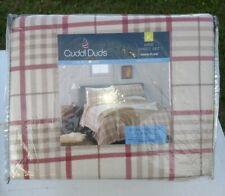 Cuddl Duds King Sheet Set Heavyweight Flannel Multi Floral 100% Cotton NEW  JN19