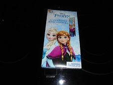 Disney Frozen 16 Valentines With 16 Pencils New With Free Shipping!