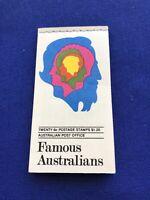 Australia Stamp Booklet,1970,MNH,Cat Val:$26US, Price: $5US,  (2269)