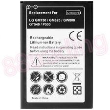 Quality Battery for LG GM750 GW620 GW800 GW88 GT540 Optimus P500 One 1500mAH