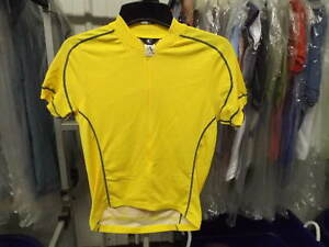 New Yellow Canari Matrix Cycling Jersey..Men's Small (Second Quality)