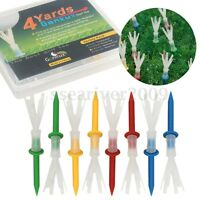 Pack of 12 4 Yards More ProTee System Evolution Plastic Golf Tees 2 3/4''