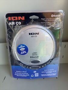 ION air cd Portable Bluetooth CD Player Compact Music CD Wireless