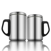 Stainless Steel Thermal Travel Mug Insulated Coffee Water Tea Cup 350ml 500ml