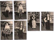 PHOTO LOT 6 Photos Classe de Maternelle École Écolier 1950 Déguisement Noël