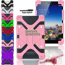 "Shockproof Silicone Stand Cover Case For Various 7"" 8"" AINOL Novo Tablet +Stylus"