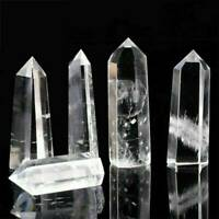 Natural Clear Quartz Crystal Healing Mineral Specimen Stone Wand Reiki UK