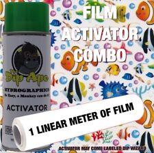 Under The Sea Ocean Fish Dip Ape Activator Film Combo Hydro Water Transfer