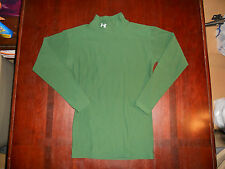 Men's Under Armour Cold Gear Long Sleeve Compression Shirt Size M Green