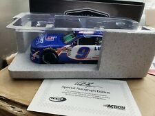 2017 William Byron #9 Autographed Liberty University Darlington Throwback 1/24th