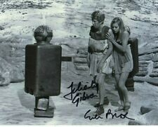 More details for doctor who autograph: felicity gibson & giles block(the dominators) signed photo