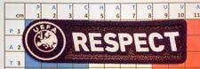 Patch Europe RESPECT pour maillot foot UEFA Europa et Champion's League  09/10