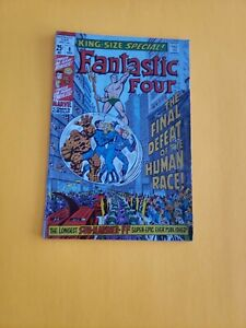 FANTASTIC FOUR -KING SIZE SPECIAL #8-  1970  KIRBY  art-