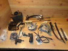 1972 Kawasaki F7 175 Frame Parts Brake Lever Plate Bar Control Airbox Foot Peg