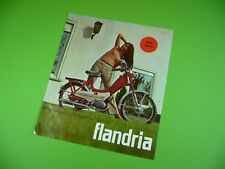 406ka2 folleto, Dépliant (para 1969): a. Claeys Flandria mini-futura, libelle AF