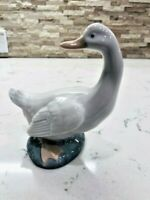 70's NAO LLADRO' DAISA FINE PORCELAIN GOOSE FIGURINE MADE IN SPAIN RARE