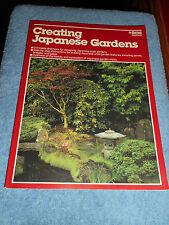 New listing Creating Japanese Gardens by Alvin Horton (1989, Paperback) Ponds Bridges Gates