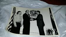 1967 JAMES STEWART Marine Corps enlistment with son Ronald Rare! 8x10 BW HTF