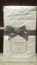 $85 Pottery Barn Monique Lhuillier Coralie Pillow Sham white ruffle Lace King