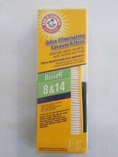 Bissell 8 & 14 by Arm and Hammer Odor Eliminating Vacuum Filter 62648F ~ 8/14