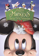 DVD:MICKEY MOUSE - MICKEYS TWICE UPON A CHRISTMAS - NEW Region 2 UK