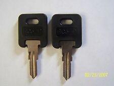 2 FIC Aftermarket Camper Key Blanks