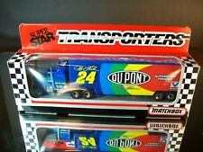 Jeff Gordon #24 Dupont 1993 1:87 Racing Team Transporter Matchbox