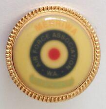 Merriwa W.A. Air Force Association Bowling Club Pin Badge Blurred Enamel (M11)