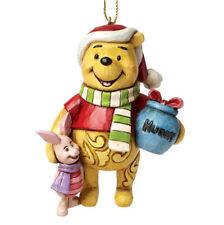 DISNEY TRADITIONS Winnie Pooh mit Piglet Anhänger NEU/OVP Weihnachten Ornament