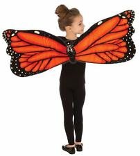 Plush Butterfly Wings Animal Insect Fancy Dress Up Halloween Costume Accessory