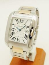 Free Shipping Pre-owned Cartier Tank Unglaze LM K18PGxSS W5310037 WithGenuineBOX