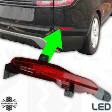 Rear bumper LED Fog Lamp Light LEFT in Red for Range Rover Velar L560 LH