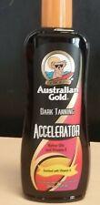AUSTRALIAN GOLD DARK TANNING ACCELERATOR LOTION 8.5 oz  FAST FREE SHIPPING