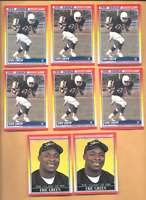 1990 SCORE #629 ERIC GREEN Rookies 6 & & 2  E. Green RC. Steelers Football Cards