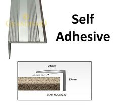 3ft Length - Stair Edging - Self Adhesive Stick Down - Edge Nosing Tread Step