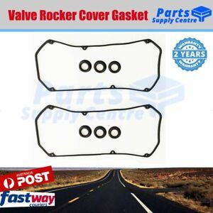 2 X VALVE TAPPET ROCKER COVER GASKET KIT for MITSUBISHI TRITON MK ML 6G72 6G74