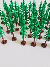 16 Lego Pflanzen Baum Nadelbäume mit Bodenplatte 24855 MOC  NEU