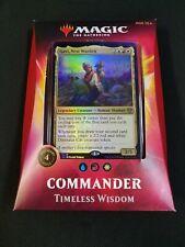 Timeless Wisdom   Ikoria Lair of Behemoths Commander 2020 Deck   NEW   MTG Magic