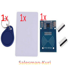 DE Lager! 1x RFID TAG 1x RFID Karte 1x RFID MODUL RC-522 13,56Mhz Set f. Arduino